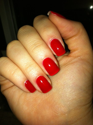 Nails #1 - red.