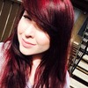 Went from jet black to red hair! Im in love