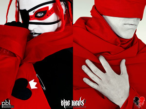 "For this photo series called ""The Reds"" i took the concept from the ""Tear you Apart"" video of the band She Wants Revenge but I've added a personal touch and also telling a different story...What are the REDS? What are they doing?