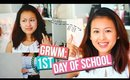 Get Ready With Me: First Day of School! [2015] + Outfit Ideas