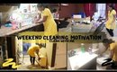 WEEKEND CLEANING MOTIVATION  | CLEAN WITH ME