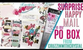 Surprise Happy Mail from CruzzinWithCrystal, Unboxing Happy Mail from my PO Box