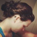 Dirty Hair - Messy Bun