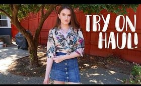 EVATRENDS Try On Haul ! Cute & Unique Clothes + Accessories
