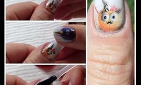 How to apply OMG nail strips