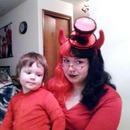 Kiddo and I on Halloween