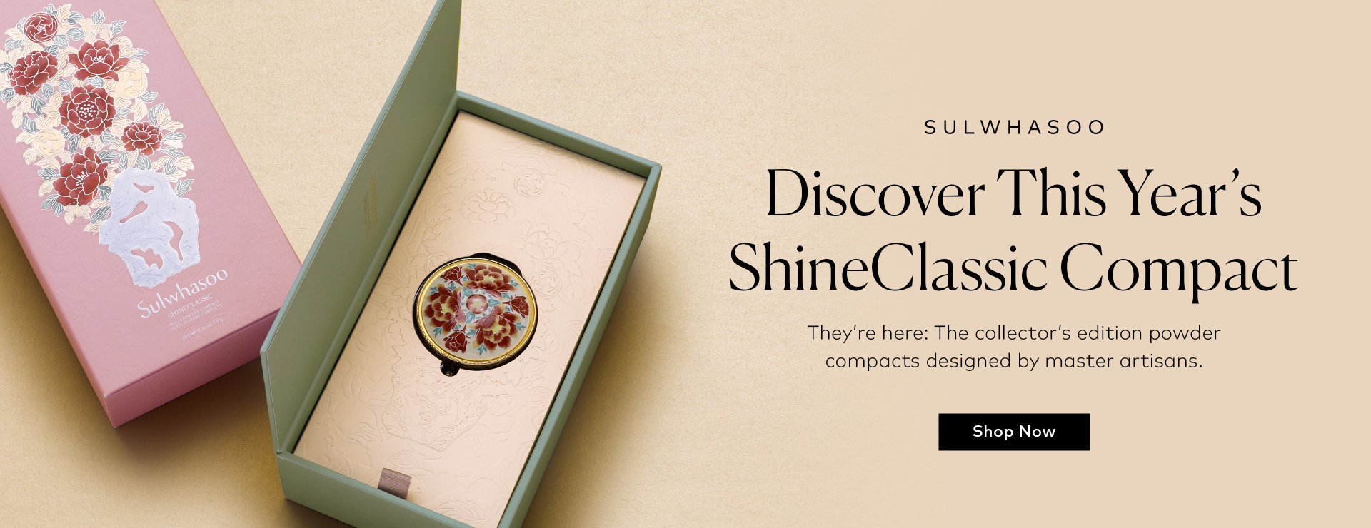 Shop Sulwhasoo's ShineClassic Compacts on Beautylish.com
