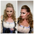 Pirate Wench Makeup & Hair