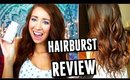 GROW LONGER, HEALTHY HAIR | HairBurst Review!