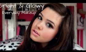 Bright & Glowy Everyday Makeup!
