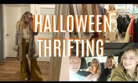THRIFTING OUR HALLOWEEN COSTUMES