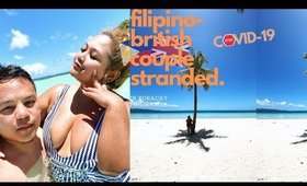 Stranded Filipino-British couple in Boracay due to COVID-19