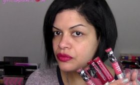 Liquid Lipstick Craze:  The Balm Meet Matte Hughes Lip Swatches & Review