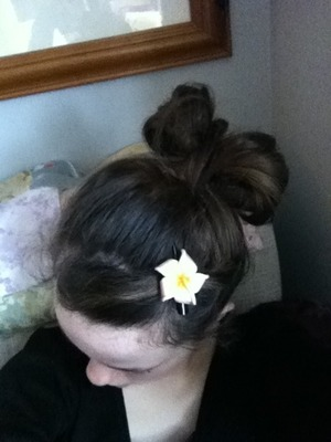 Not bad for first attempt  Thought I would add a flower