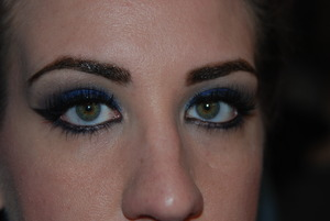Practice with cream eyeshadows