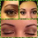makeup brown