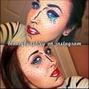 """Comic"" makeup look! ☺❤"