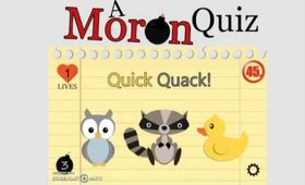 A Moron Quiz -A New Mobile App by Beladonis