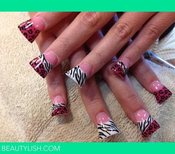 Animal Print Jersey Style Nails. | Nika B.\'s Photo | Beautylish