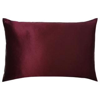 Queen/Standard Silk Pillowcase Plum