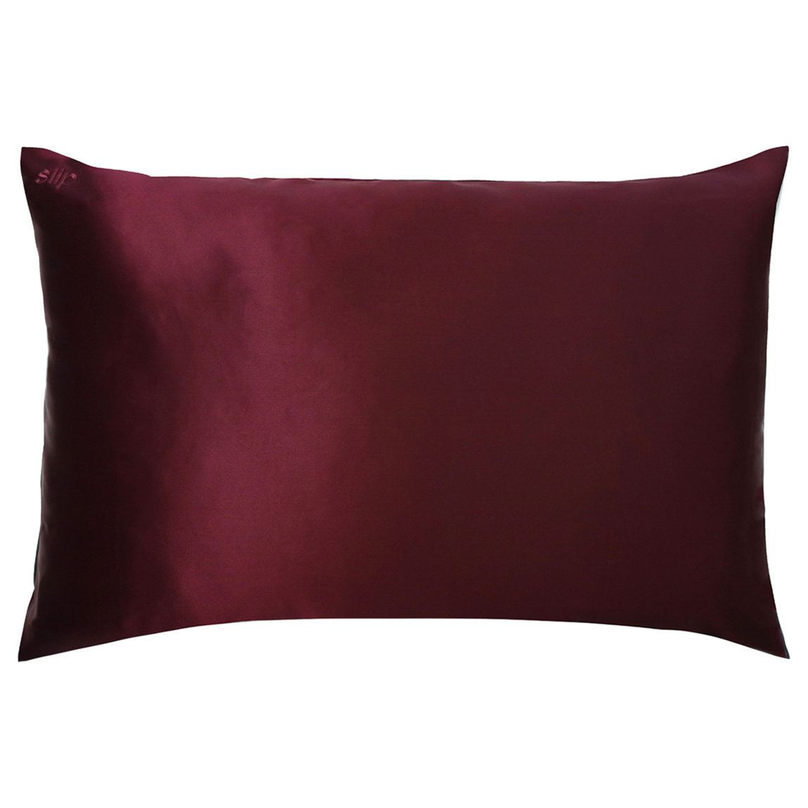 Slip Queen/Standard Silk Pillowcase Plum alternative view 1 - product swatch.
