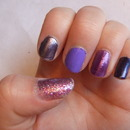 Ombre purples