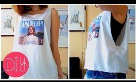 DIY FASHION ❤ Lana Del Rey GRAPHIC SHIRT!