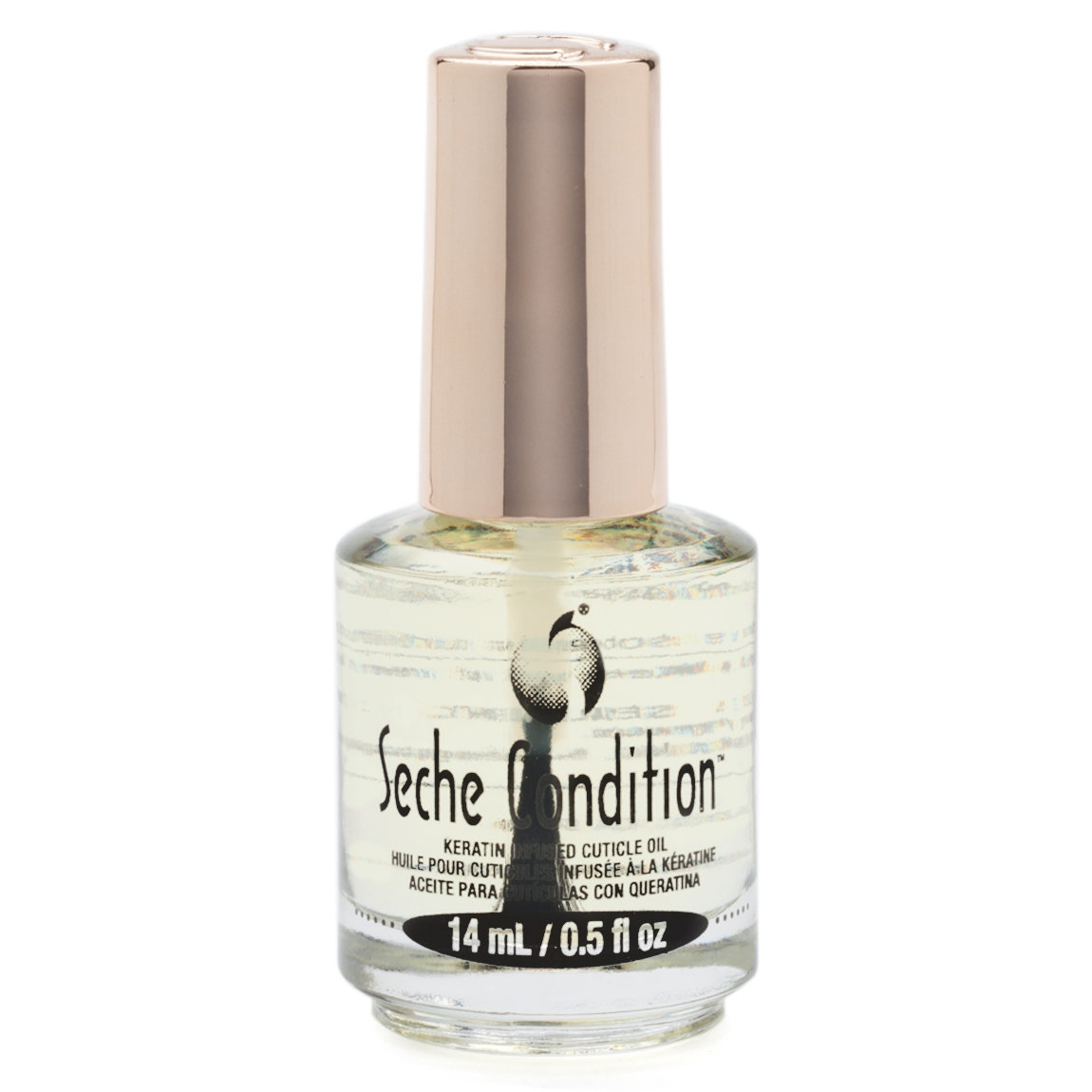 Seche Condition Keratin Infused Cuticle Oil product smear.
