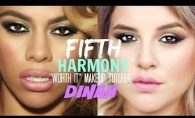 "Fifth Harmony's ""Worth It"" Makeup Tutorial: Dinah 