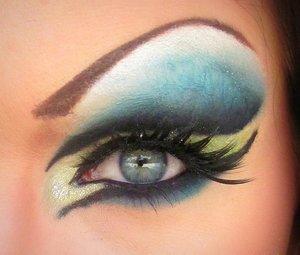 Drag Queen Halloween Eye