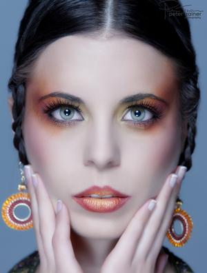 Photographer Peter Trainer Hair and make up Elizabeth Kramer Icon Artistry www.iconstudios.com.au