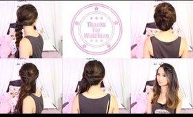 Back to School - 5 Quick Hairstyles | Cerinebabyyish