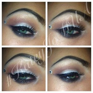 Creative personal style look. lovin the rhinestones and looking forward to using a lot more in the new future!