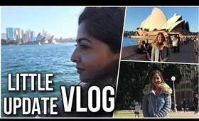 Just a random Vlog from Australia | An Update Where I've Been, Settling in etc | Stacey Castanha