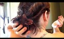 Fast twisted up-do