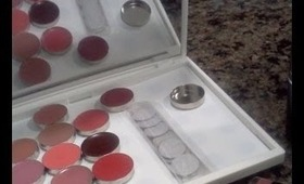 HOW-TO: MELT LIPSTICKS TO MAKE YOUR OWN LIPSTICK PALETTE