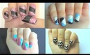 Different types of nail designs for long and short nails!