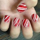 Striped Peppermint Candies