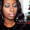 Black Diamond Holiday Makeup Look