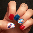 My Fourth of July Manicure