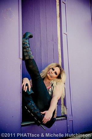 Rockchick  Hair and MU- Jen P Michelle Hutchinson Photography