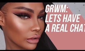 CHATTY FALL GRWM : LETS TALK YOUTUBE | SONJDRADELUXE