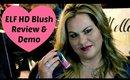 ELF Cosmetics HD Blush Review & Demo