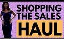 SHOPPING the JANUARY sales   WandesWorld