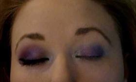 Rihanna 'Fly' New 2011 Makeup Smokey Purple Look!