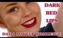 Deep Fall Lips - Day 4 Makeup Challenge