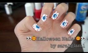 Spooky Eye Nail Art Tutorial!