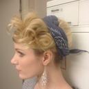 Pin-up girl hair :)