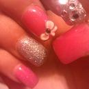 My 15 nails!^.♥
