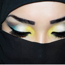 My Interpretation of Arabic MakeUp